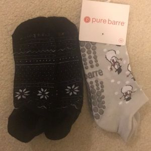 Pure Barre Holiday Sock Bundle